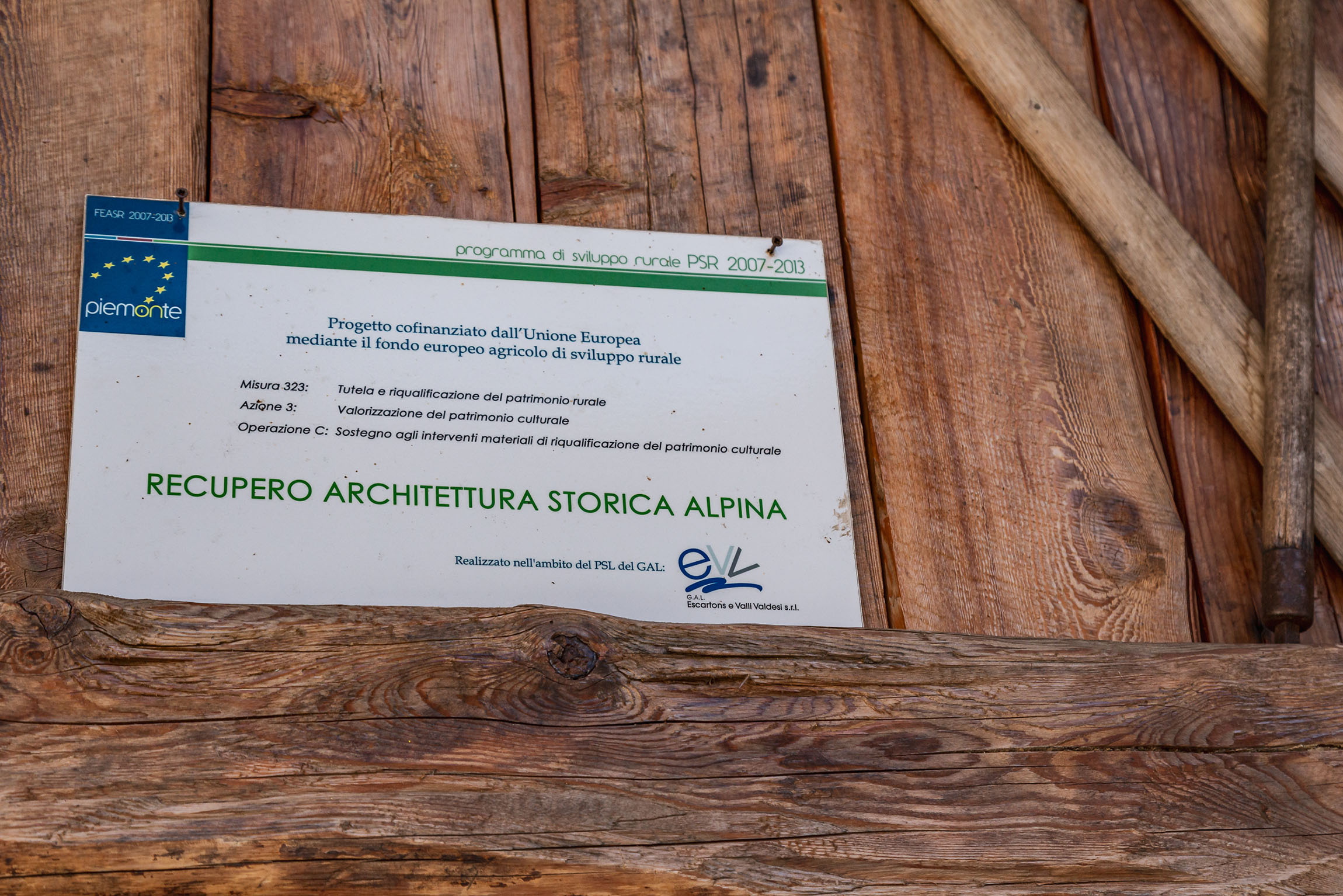 recupero architettura storica alpina